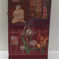 Briefmarken und Tulpen