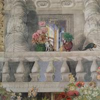 Gärten vor Renaissancepalästen