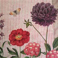 """Hockerset """"Rosa Blütenträume"""""""